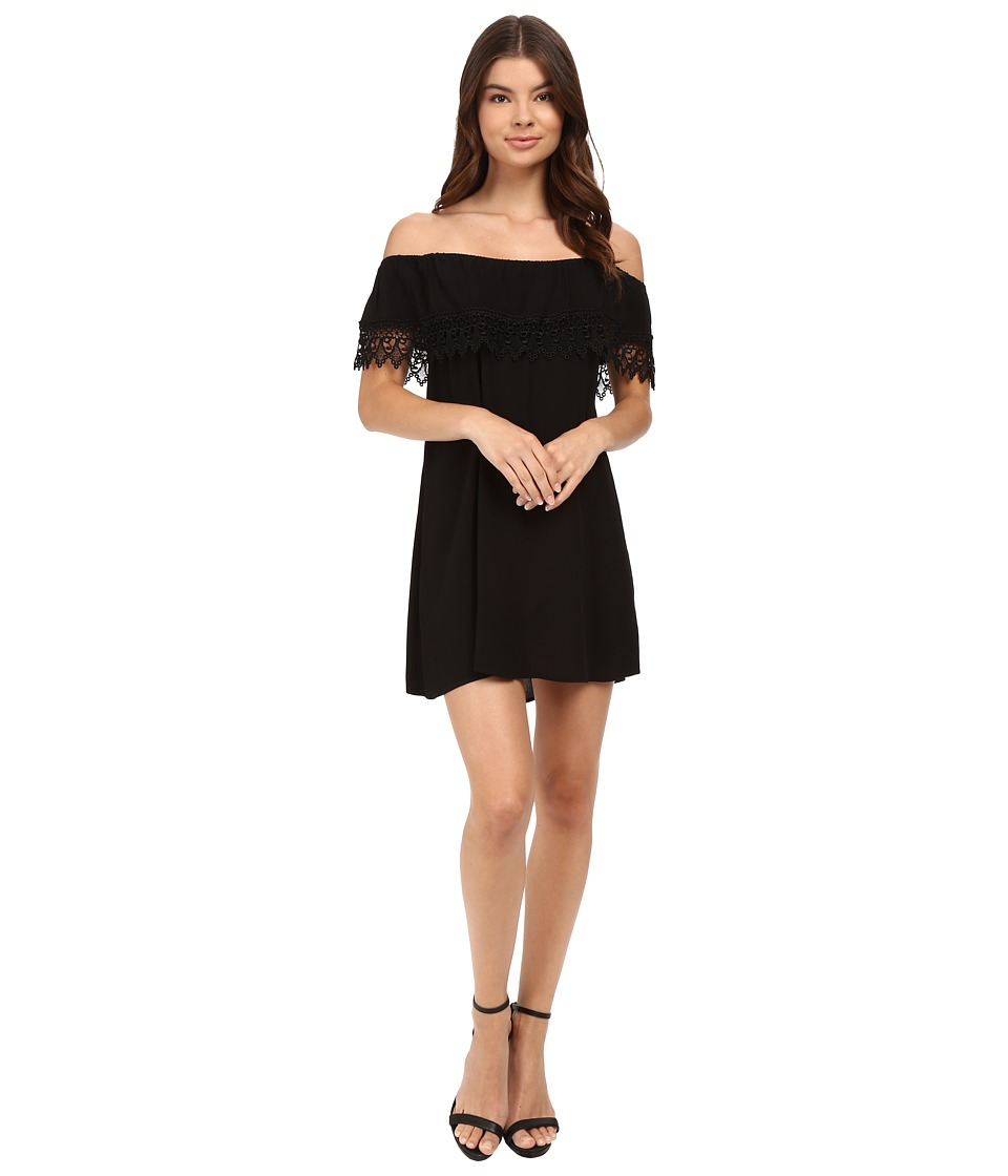 Lucy Love - Whisper-in-My-Ear Dress (Black) Women's Dress