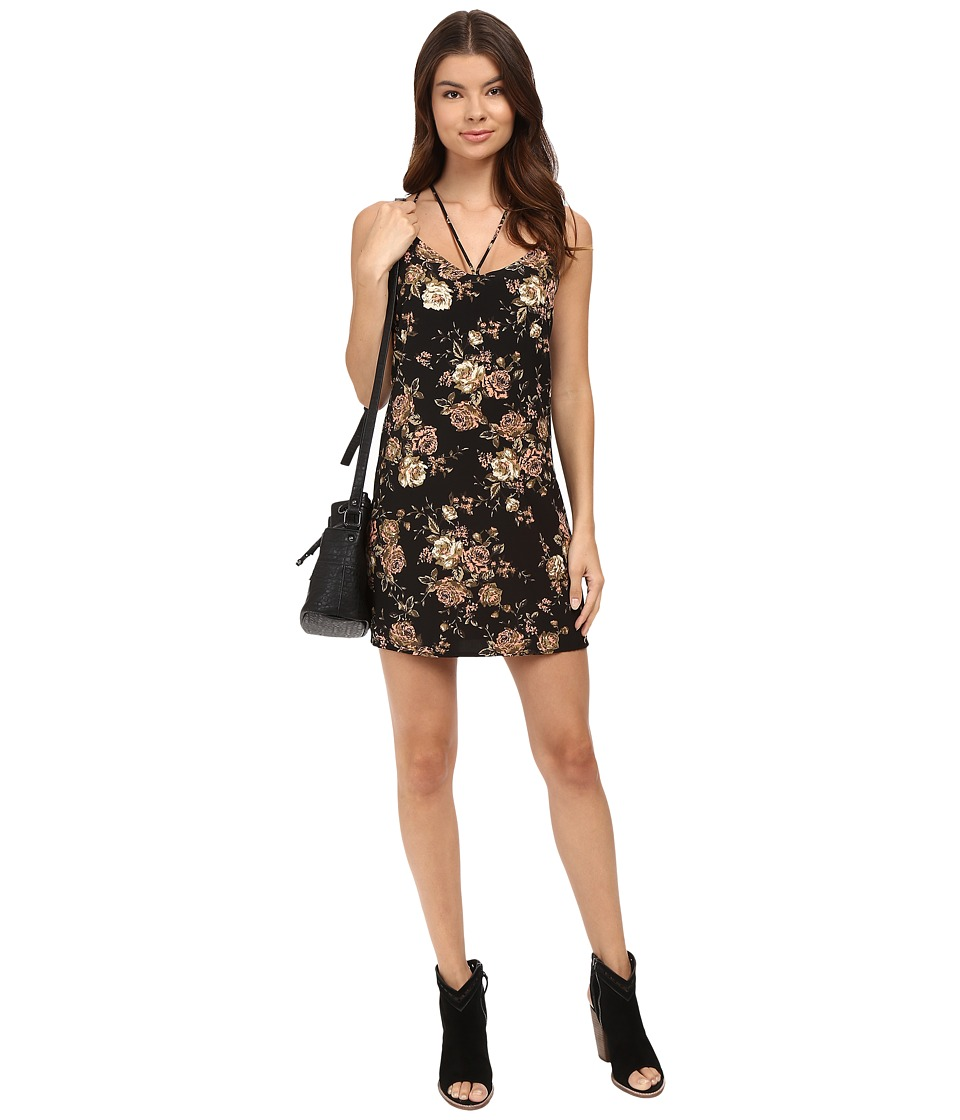 Lucy Love - Cassie Dress (Black) Women's Dress