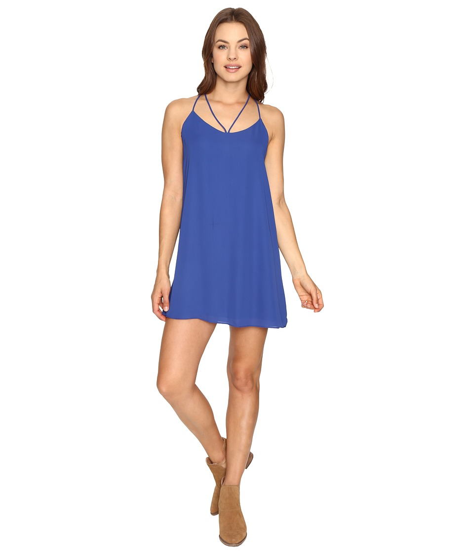 Lucy Love - Ask Me Out Dress (Electric Blue) Women's Dress