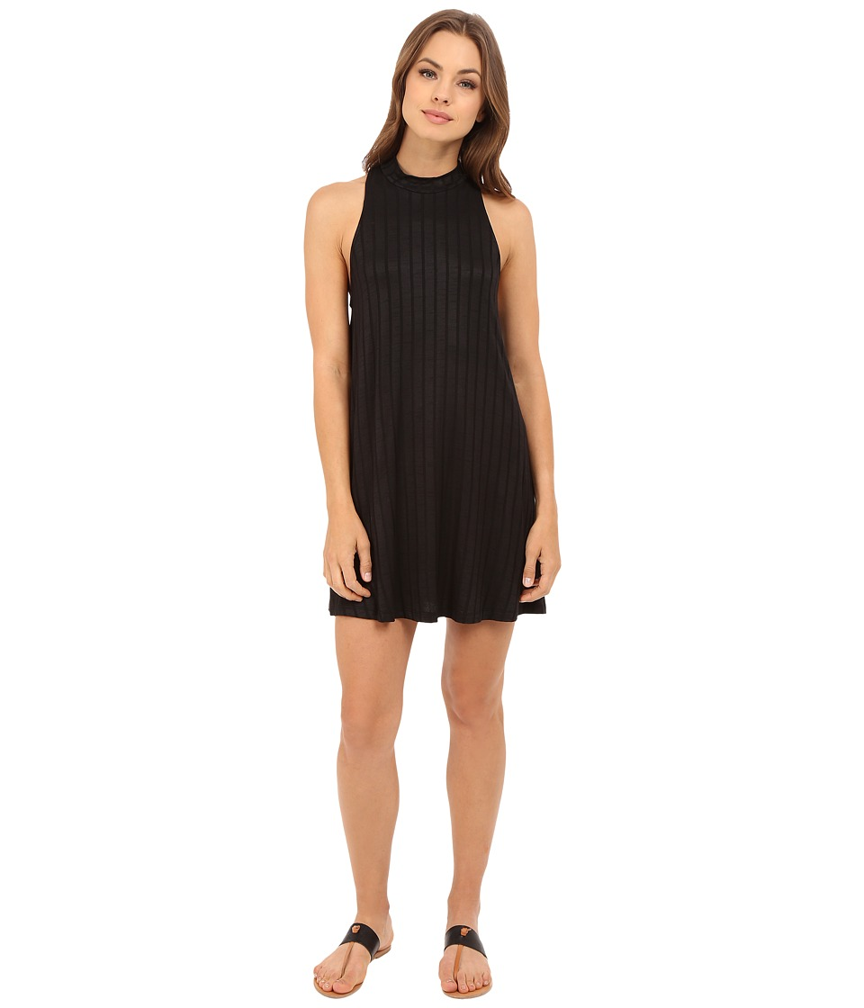Lucy Love Zaria Swing Dress (Black) Women