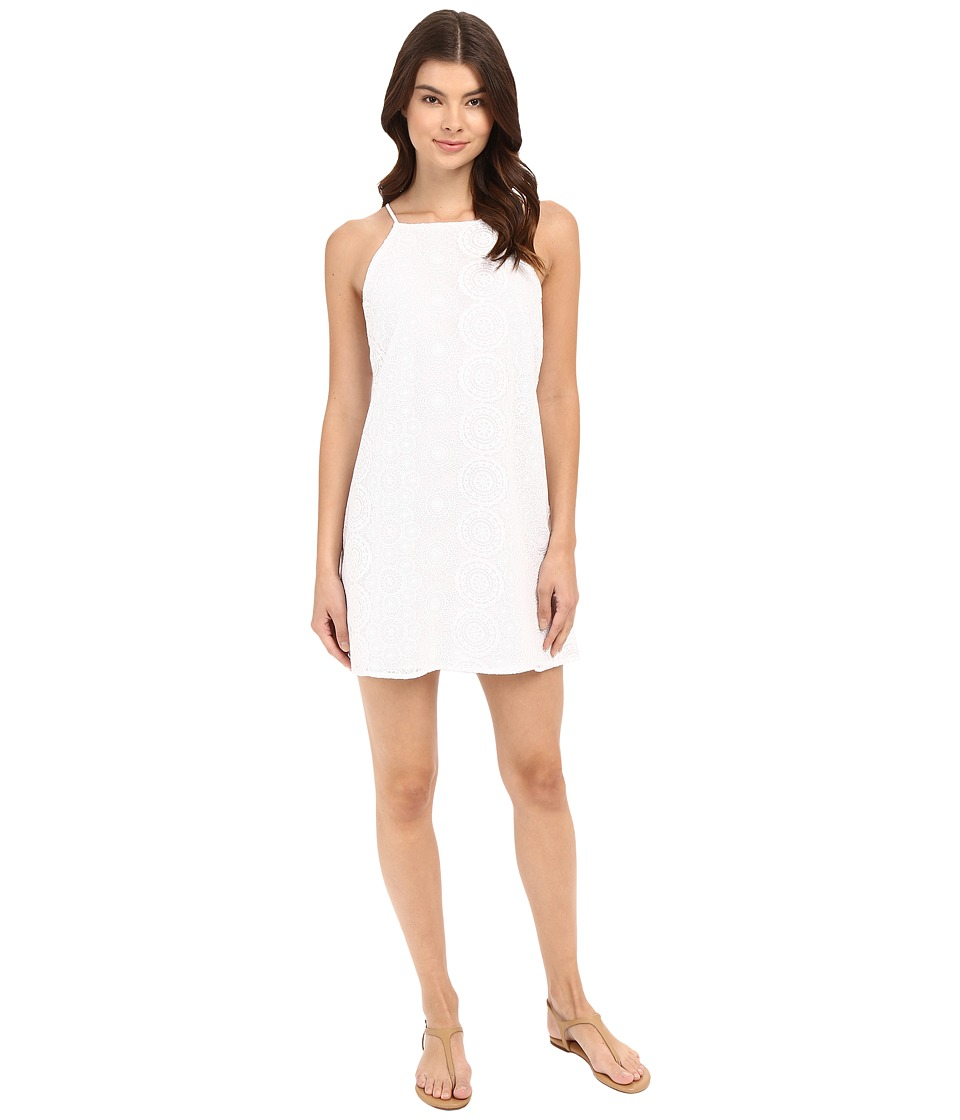 Lucy Love Sophia Dress (Crystal White) Women