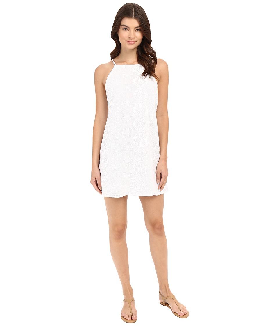 Lucy Love - Sophia Dress (Crystal White) Women's Dress