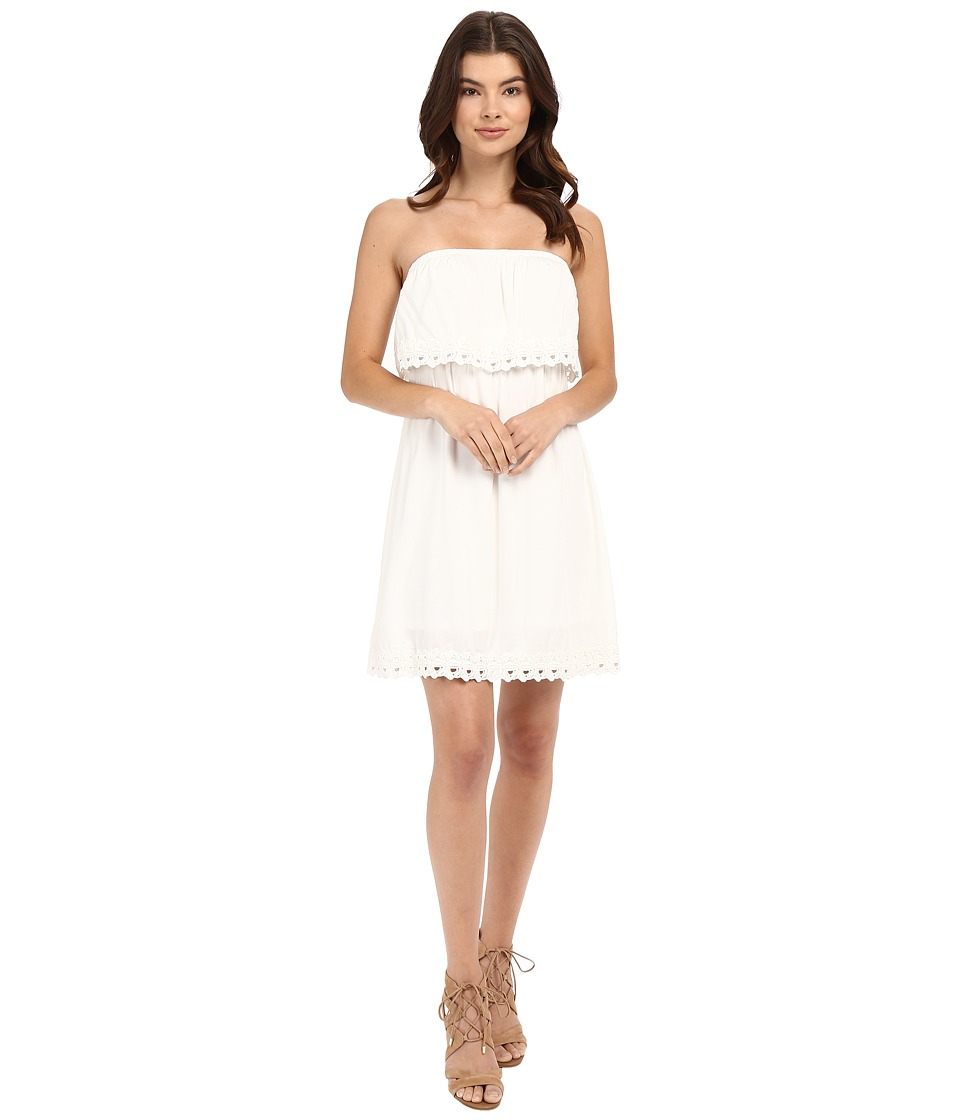 ONLY - Kasia Strap Dress Woven (Cloud Dancer) Women's Dress