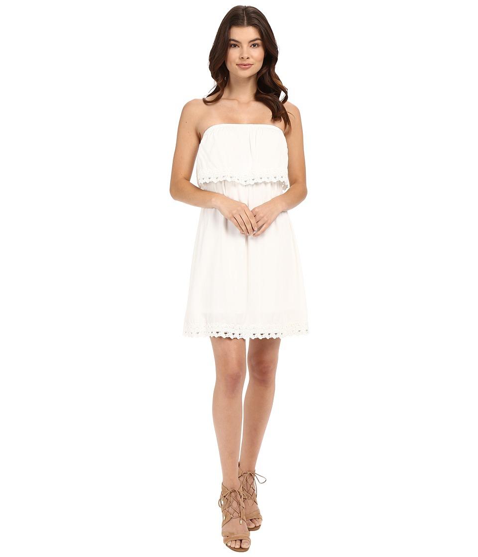 ONLY - Kasia Strap Dress Woven (Cloud Dancer) Women's Dress