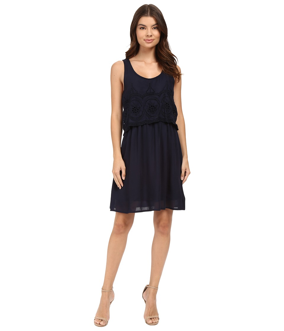 ONLY - Minja Sleeveless Short Woven Dress (Night Sky) Women's Dress
