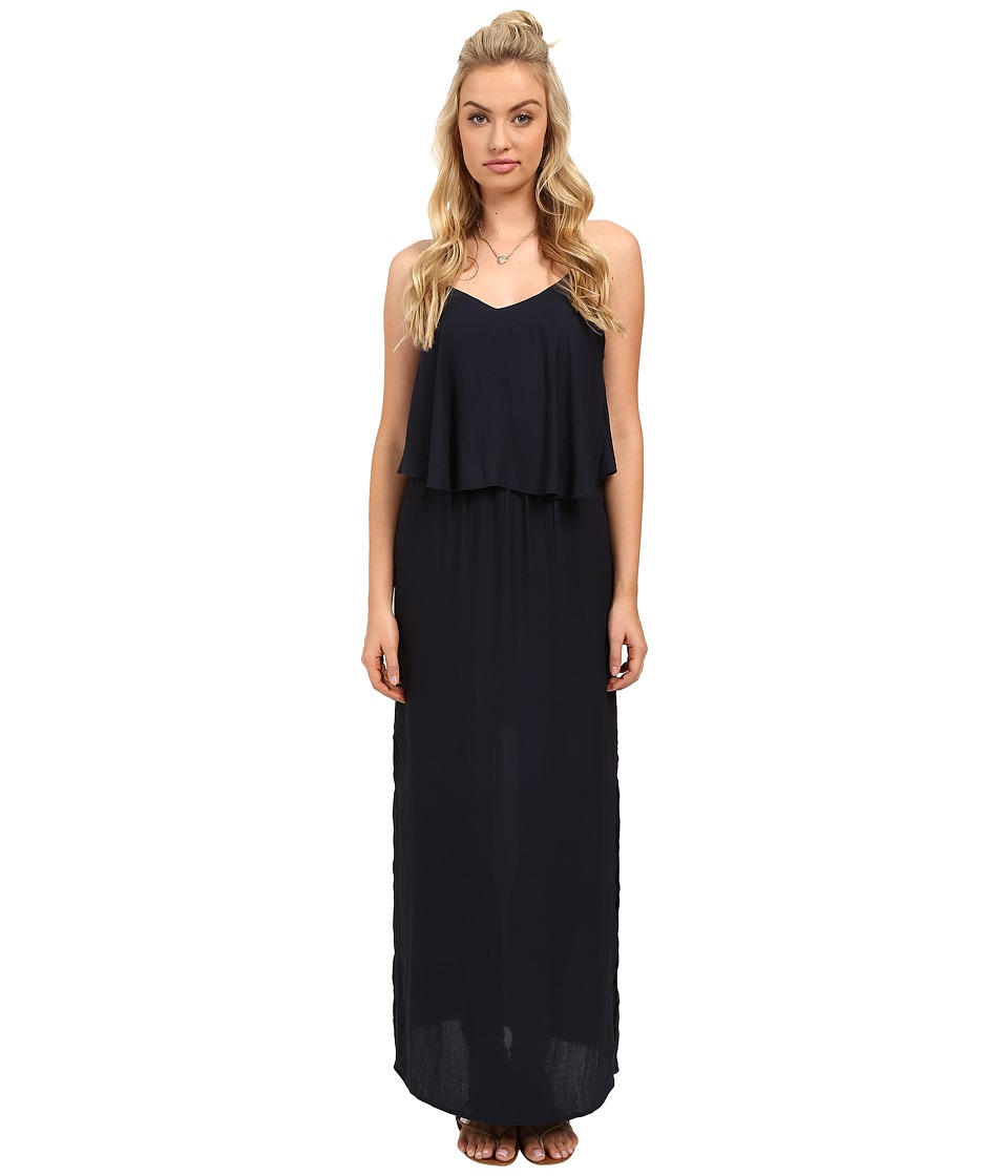 ONLY - Mojo Strap Woven Maxi Dress (Night Sky) Women's Dress