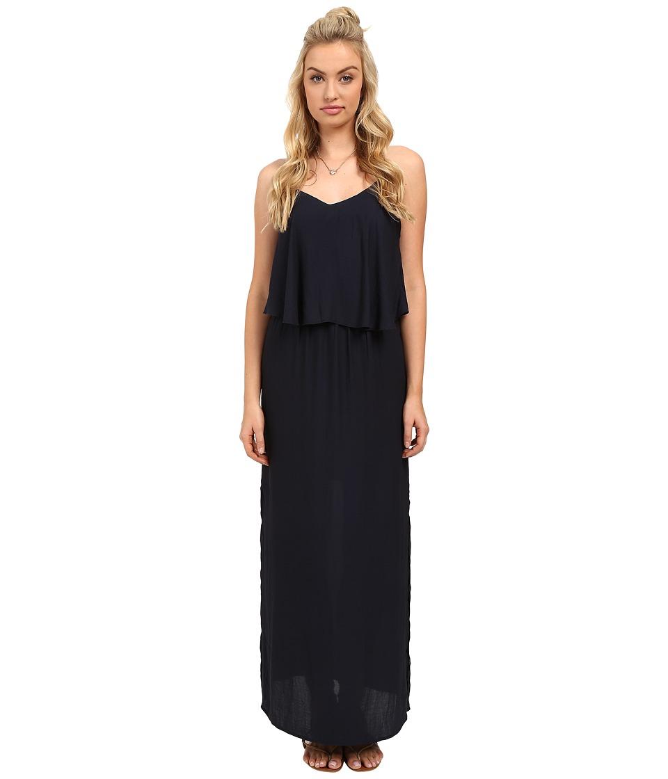 ONLY - Mojo Strap Woven Maxi Dress (Night Sky) Women's Dress