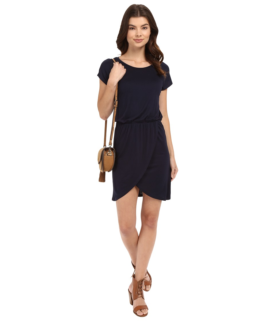 ONLY - Thelma Short Sleeve Dress (Night Sky) Women's Dress