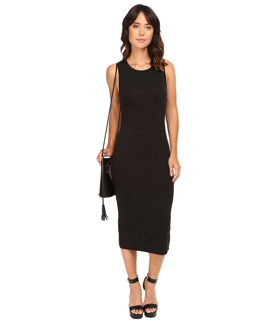 ONLY - Mojo June Sleeveless Dress (Dark Grey Melange) Women's Dress