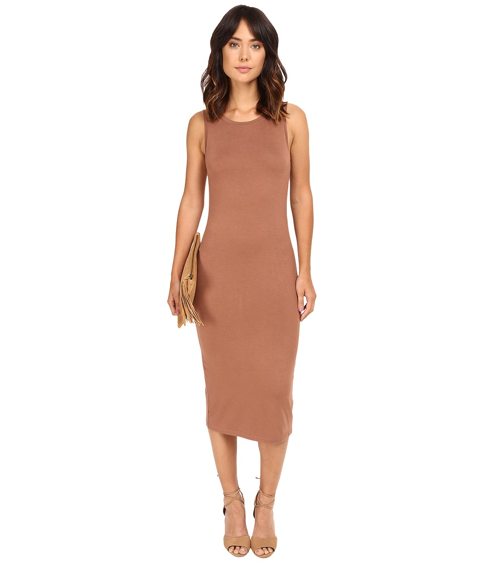 ONLY - Mojo June Sleeveless Dress (Cognac) Women's Dress