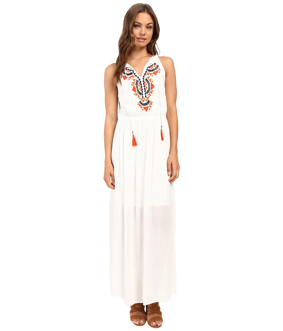 ONLY - Chili Sleeveless Woven Maxi Dress (Cloud Dancer) Women's Dress