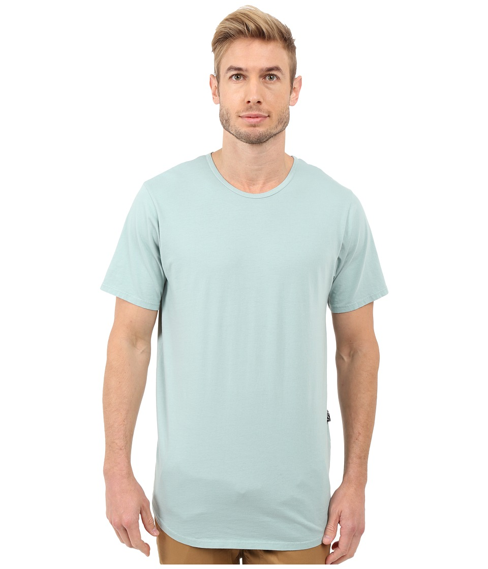 Rustic Dime - Garment Dyed Long Tee (Mint) Men's T Shirt