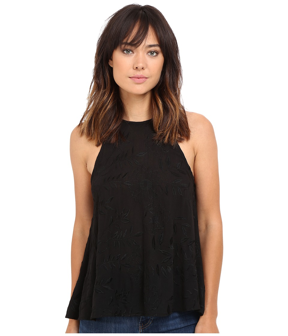 Lucy Love - Charlie Tank Top (Black) Women's Sleeveless