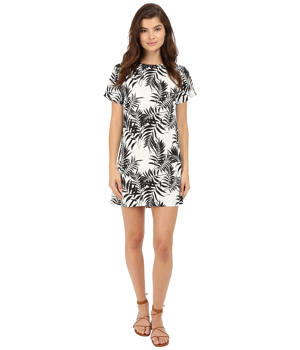 Lucy Love - Charlotte Shift (Palm Leaf) Women's Dress