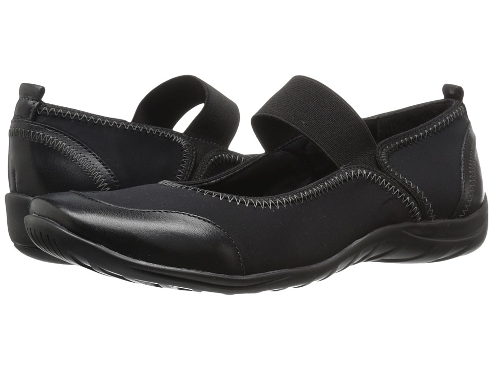 Walking Cradles - Applause (Black Stretch/Black Softee) Women's Shoes