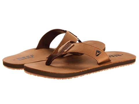 Leather Smoothy Sandals bronze brownReef IvEbVRH
