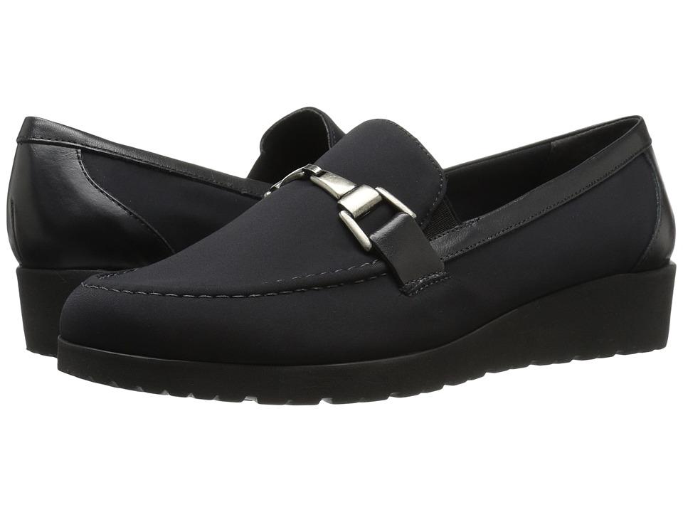 Walking Cradles Flounce (Black Stretch/Black Cashmere) Women