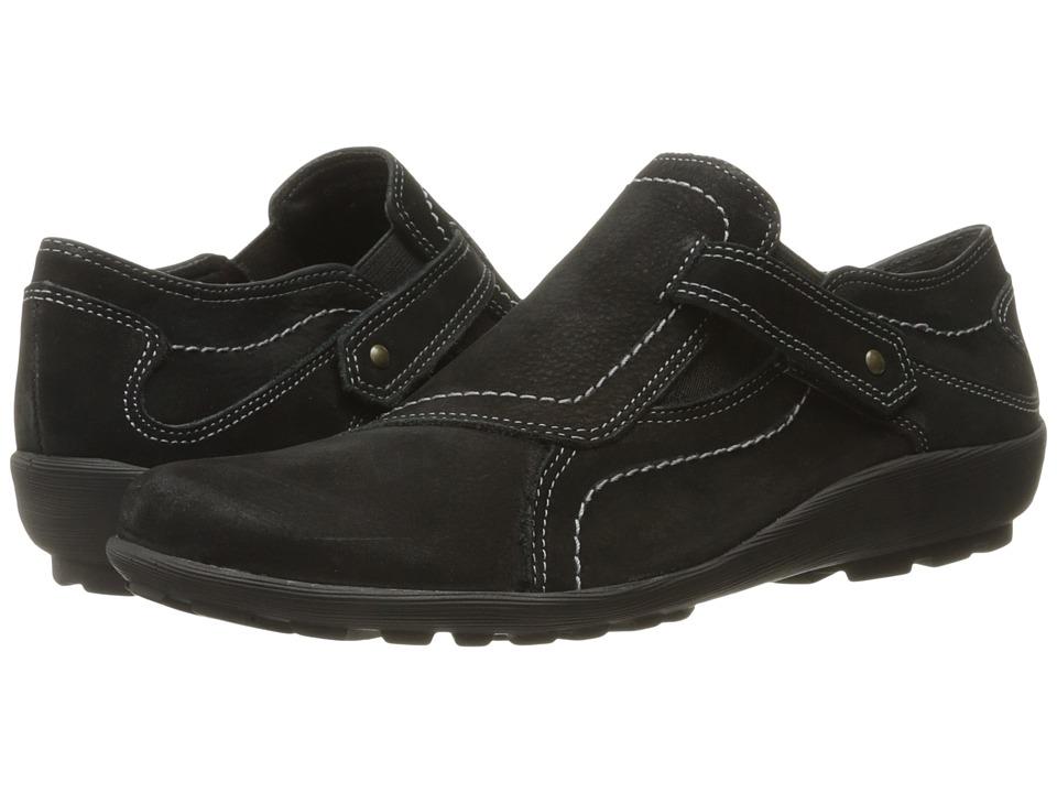Walking Cradles - Hardy (Black Roughout) Women's Shoes