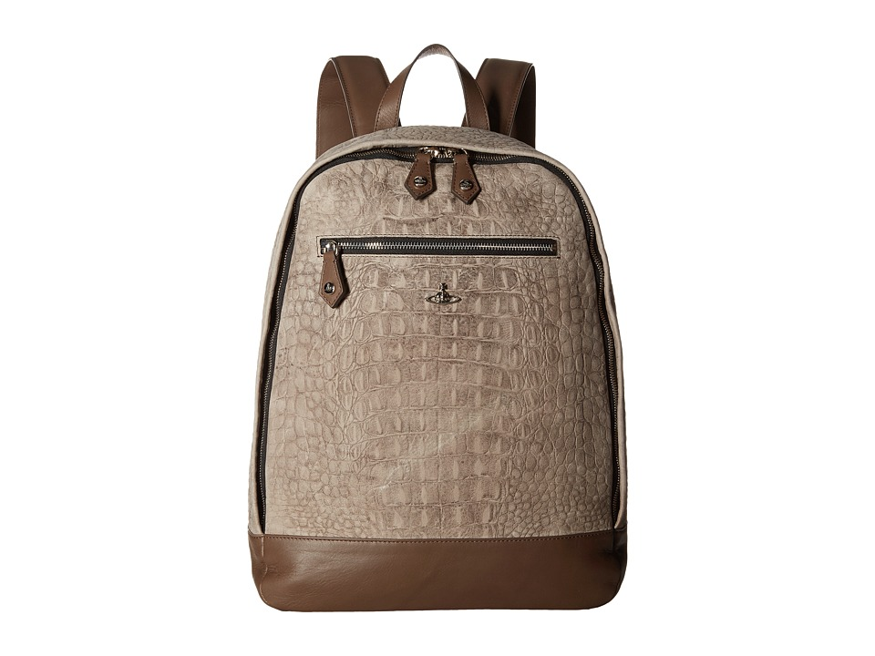 Vivienne Westwood - Amazon Backpack (Grey) Backpack Bags