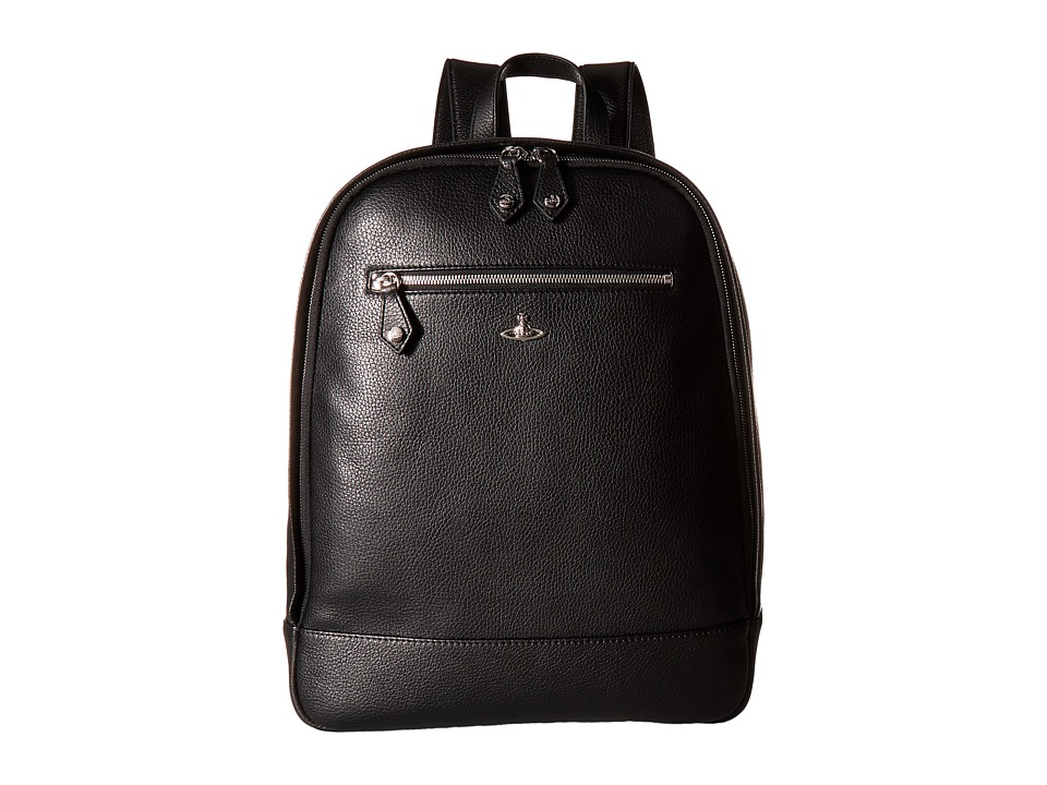 Vivienne Westwood - Milano Backpack (Black) Backpack Bags