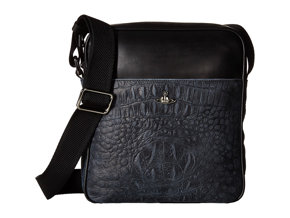 Vivienne Westwood - Amazon Port Case (Black) Messenger Bags