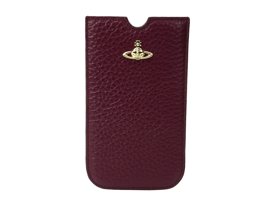Vivienne Westwood - Kensington Phone Case (Bordeaux) Cell Phone Case