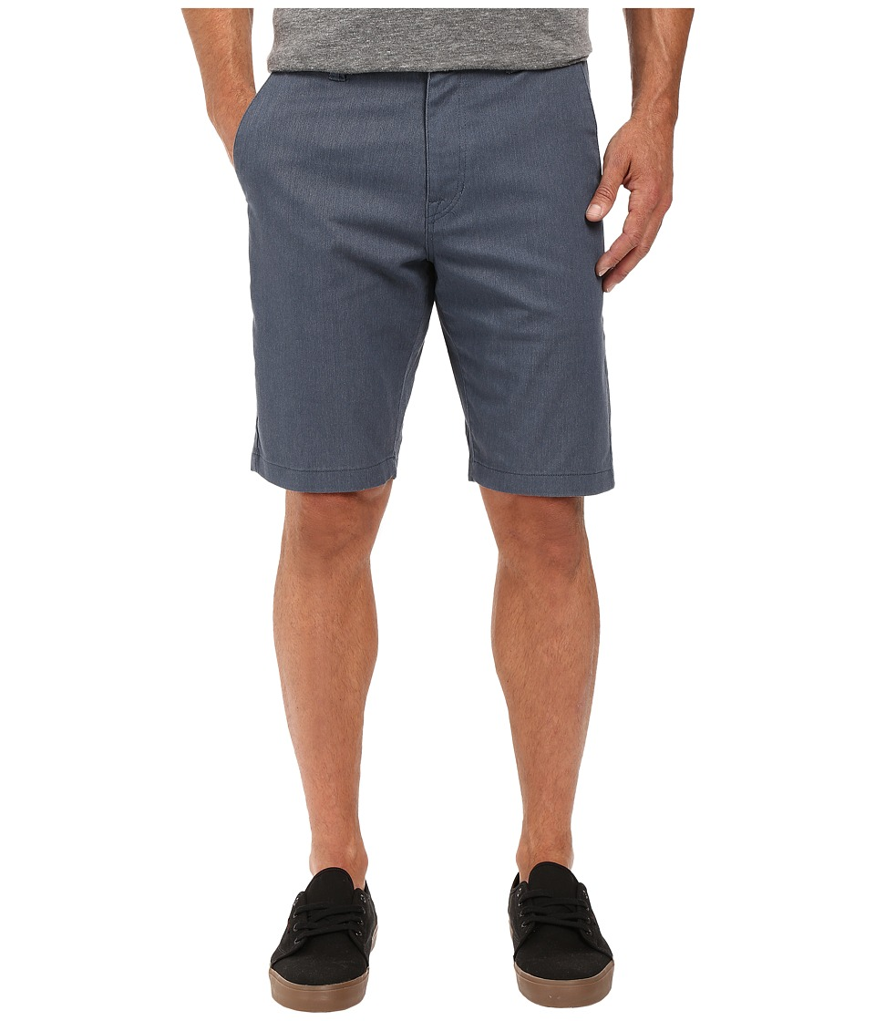Volcom - Frickin Modern Stretch Chino Shorts (Airforce Blue) Men's Shorts