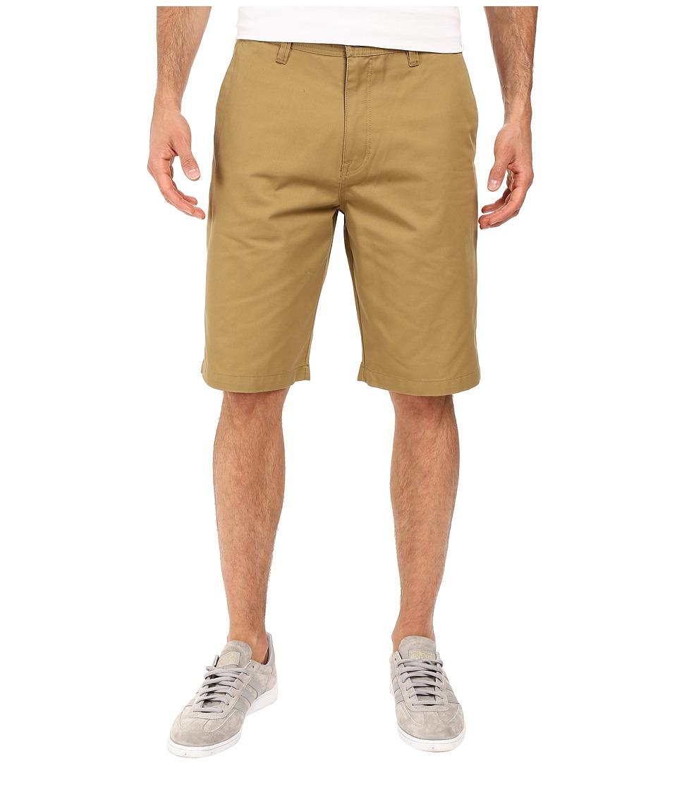 Volcom - Frickin Chino Shorts (Dark Khaki) Men's Shorts