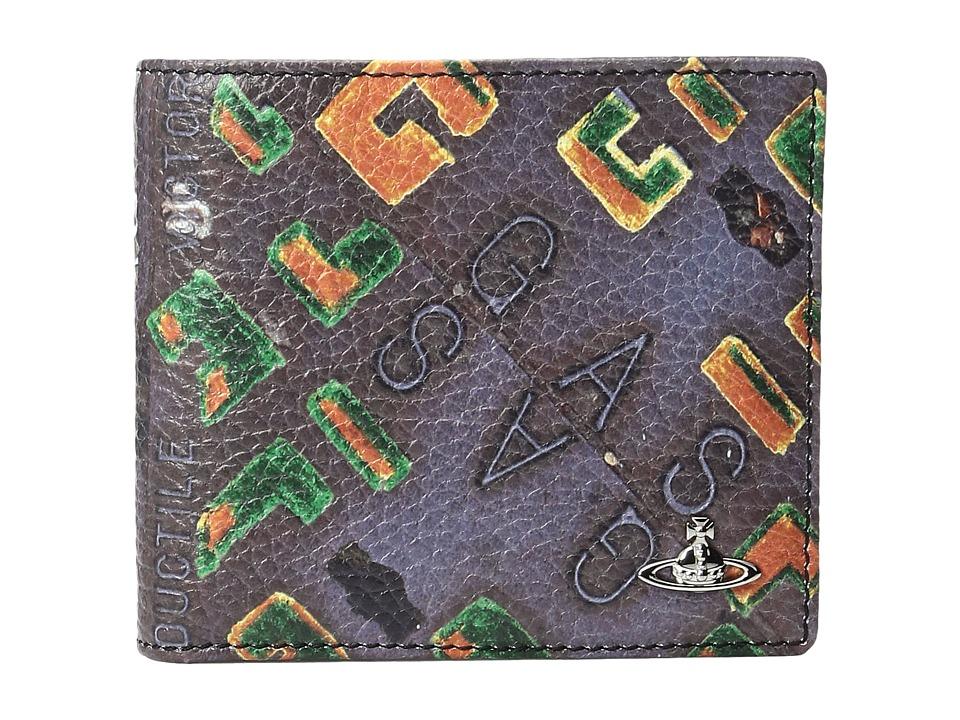 Vivienne Westwood - Manhole Wallet (Multi) Wallet Handbags