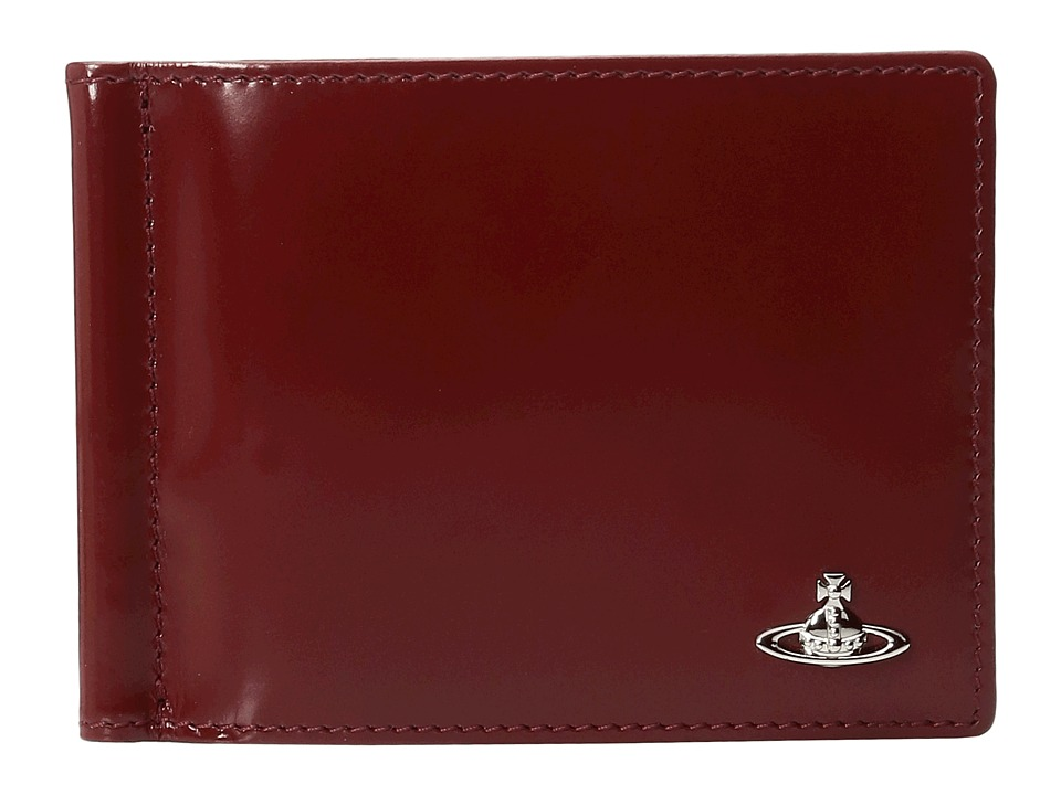 Vivienne Westwood - Man Bicolored Wallet (Bordeaux/Blue) Wallet Handbags