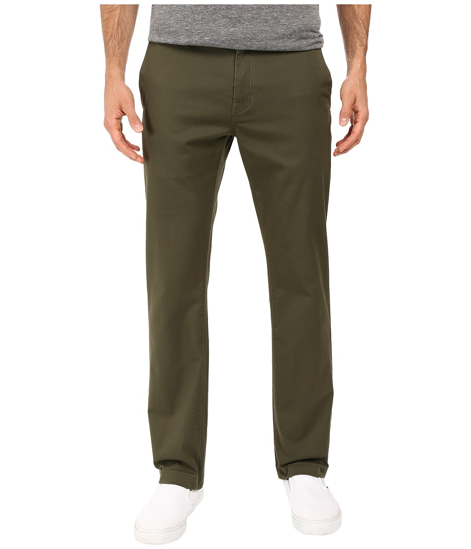 Volcom - Frickin Modern Stretch Chino (Military) Men's Casual Pants