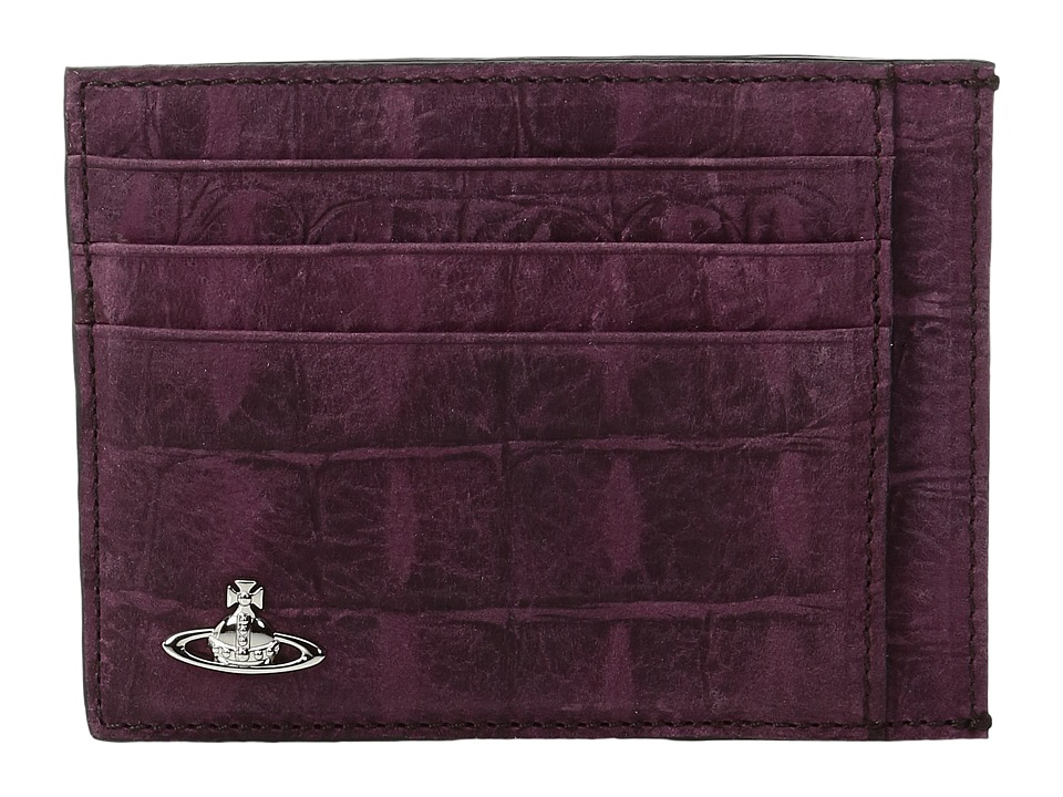 Vivienne Westwood - Amazon Card Holder (Purple) Credit card Wallet