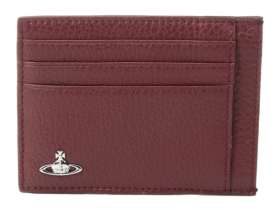 Vivienne Westwood - Milano Card Holder (Bordeaux) Credit card Wallet