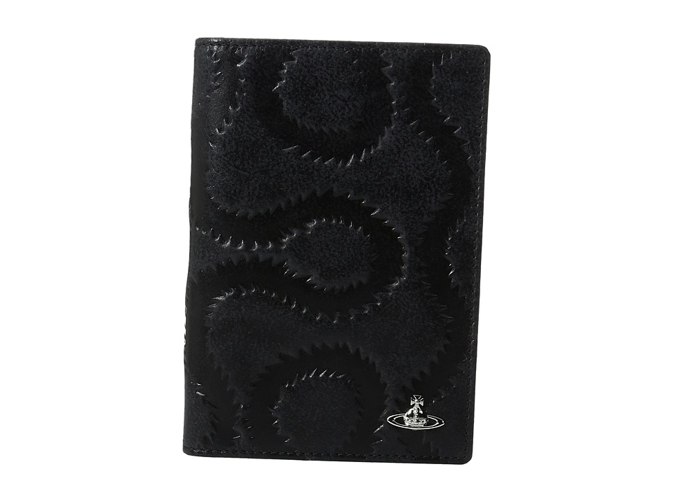 Vivienne Westwood - Belfast Passport Case (Black) Credit card Wallet
