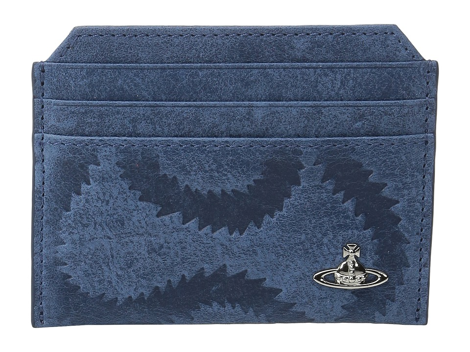 Vivienne Westwood - Belfast Small Card Holder (Blue) Credit card Wallet