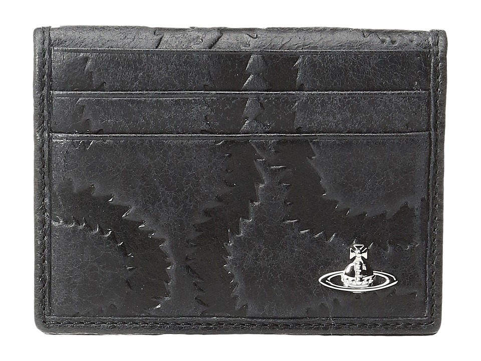 Vivienne Westwood - Belfast Folding Card Holder (Black) Credit card Wallet