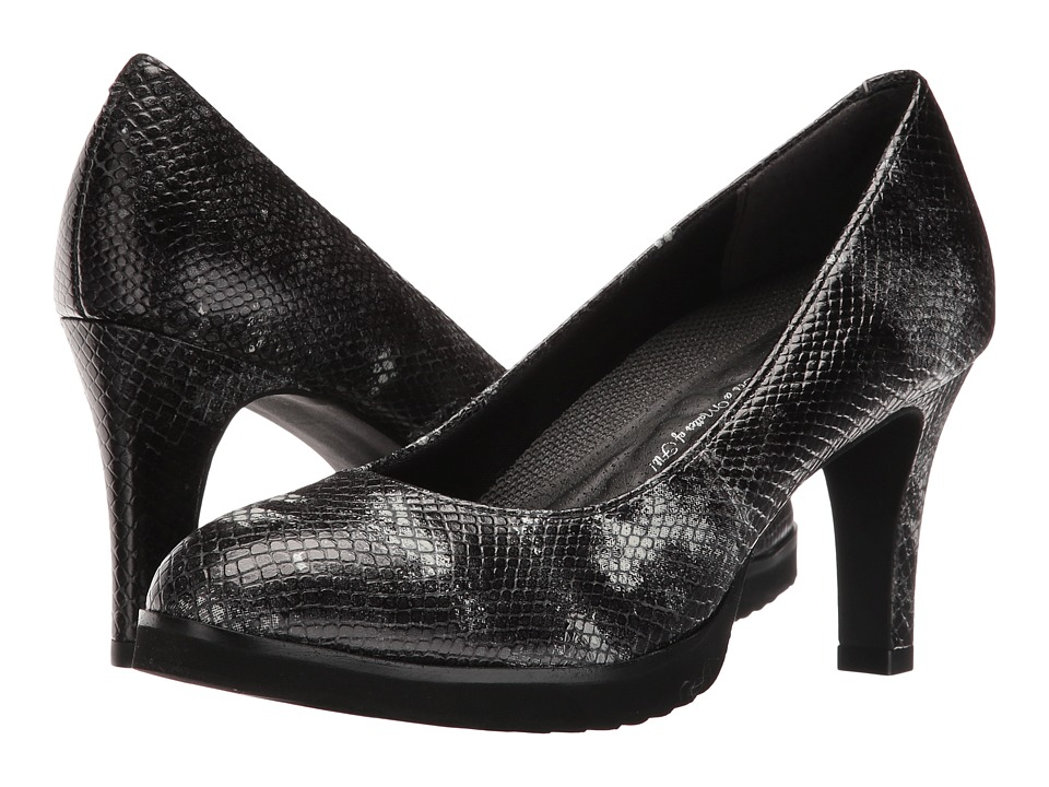Walking Cradles - Tiger (Black Snake Print) Women's Shoes