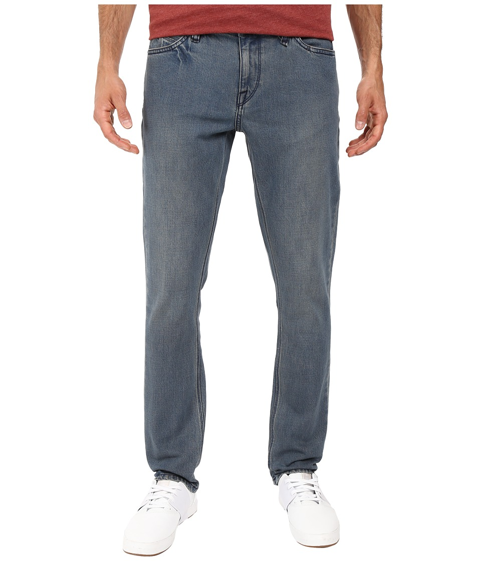 Volcom - 2X4 Skinny Fit Denim (Smokey Blue) Men's Jeans