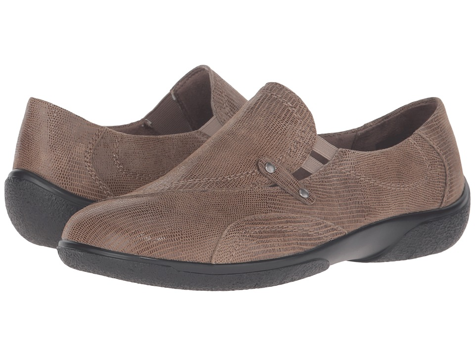 Walking Cradles - Amp (Mid Taupe Patent Lizard) Women's Shoes