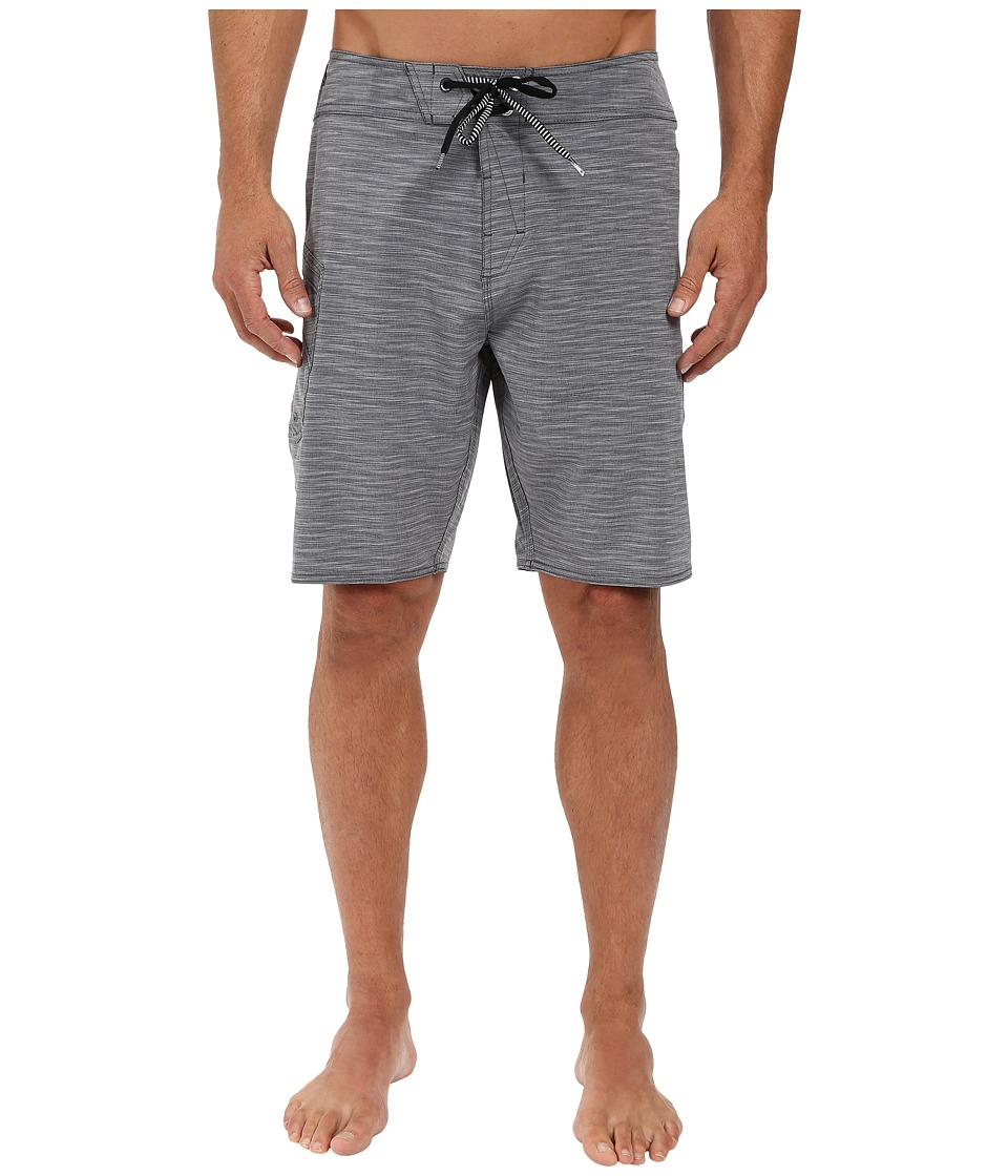 Volcom - Lido Heather Mod 20 Stretch Boardshorts (Black) Men's Swimwear