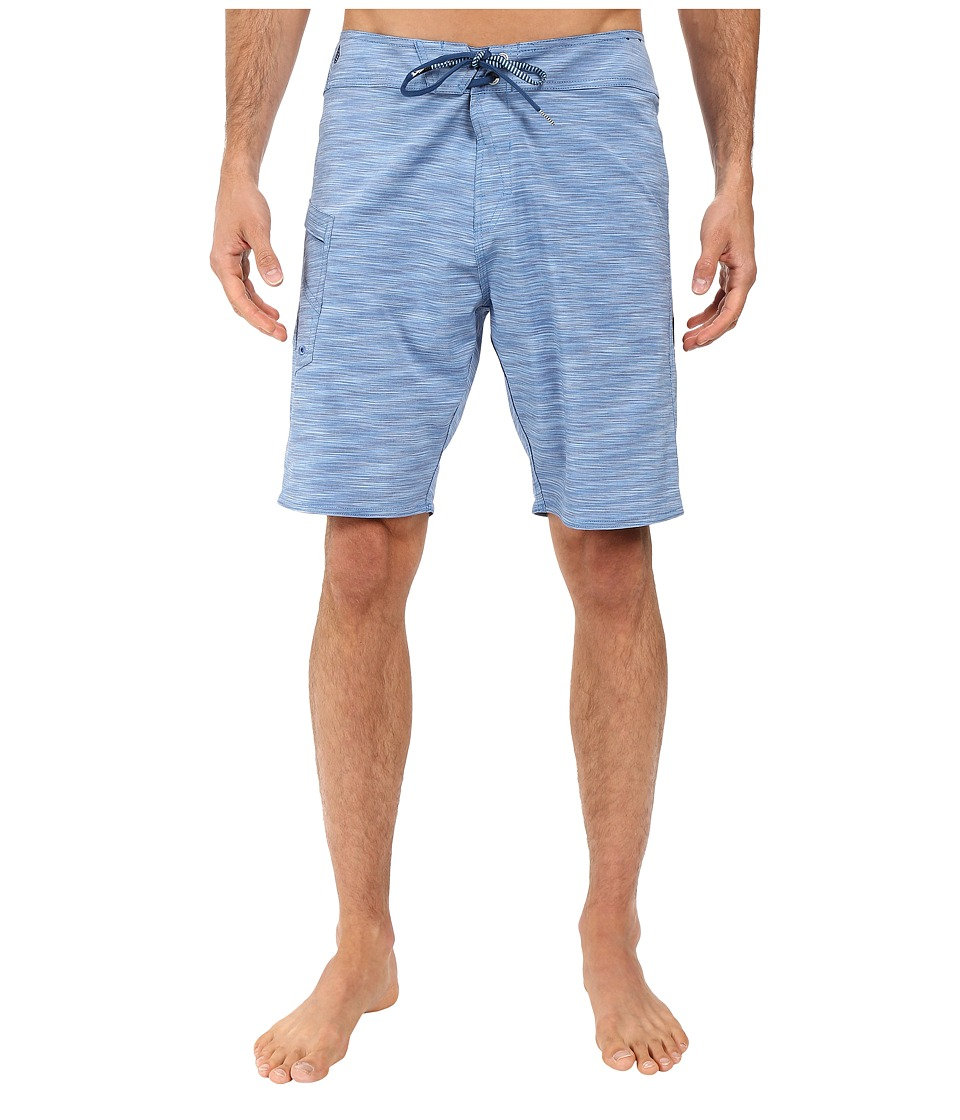 Volcom Lido Heather Mod 20 Stretch Boardshorts (Blue) Men