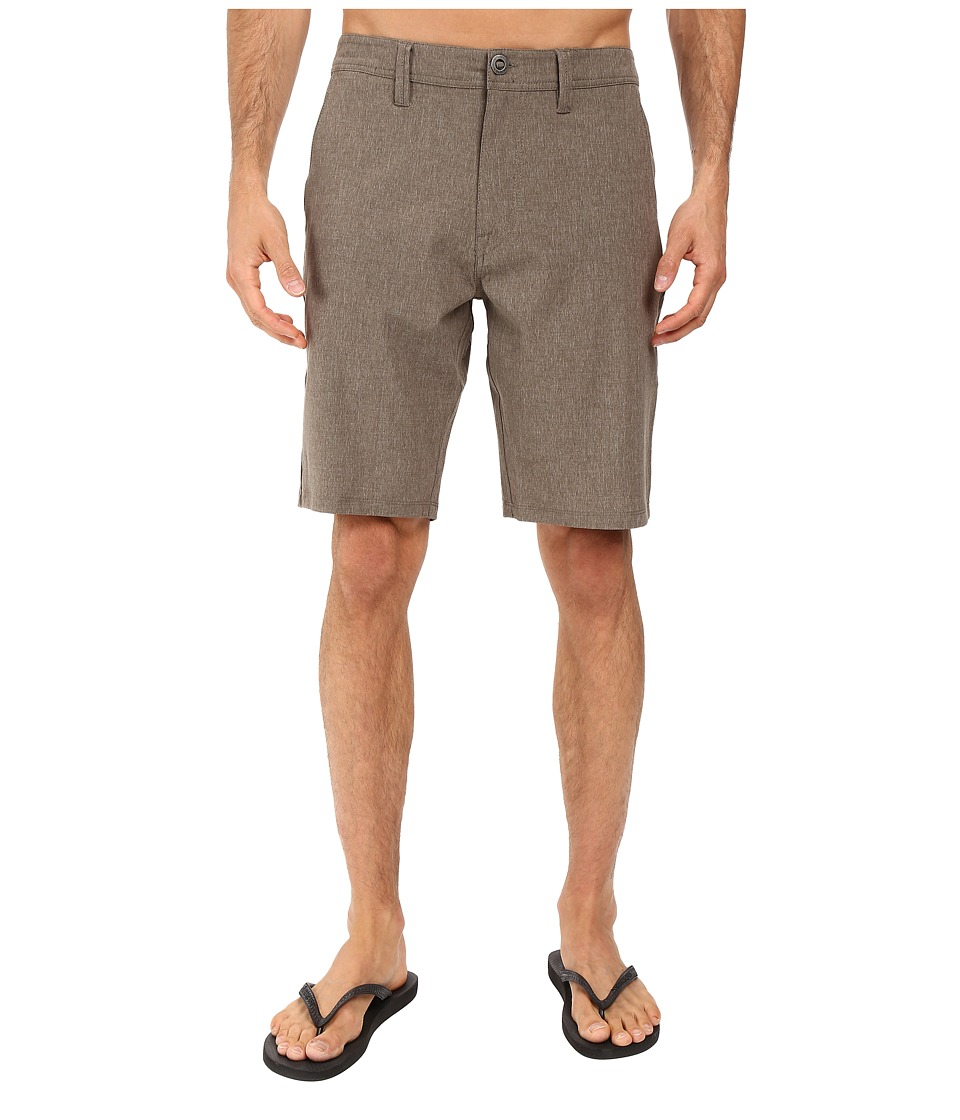 Volcom - SNT Static Hybrid Shorts (Dark Chocolate) Men's Shorts