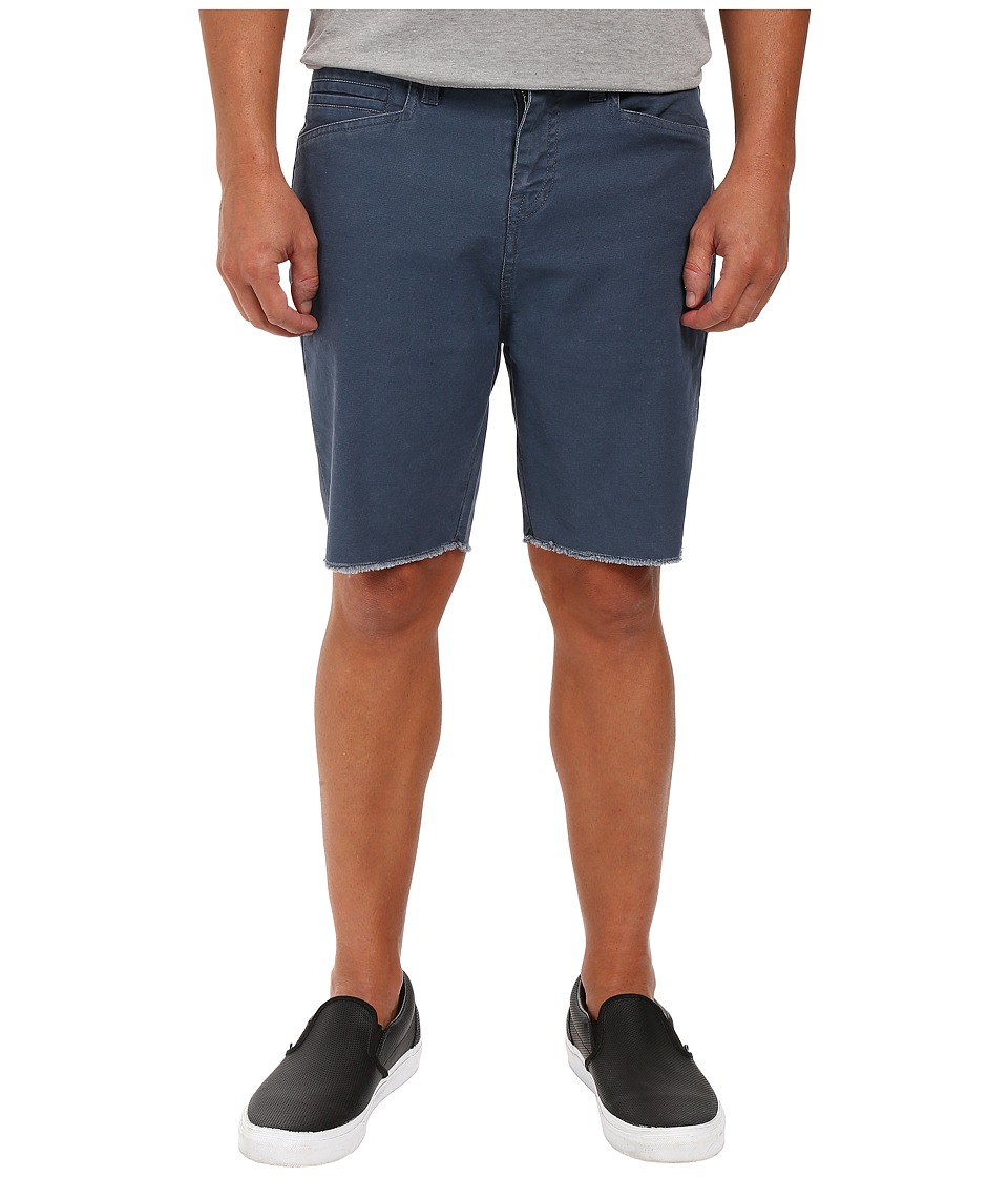 Volcom - Wolverton Raw Hem Shorts (Airforce Blue) Men's Shorts