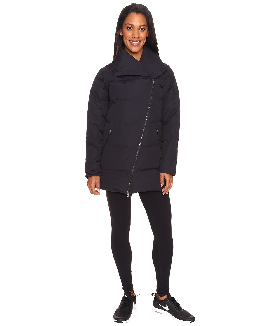 Lucy - Insulated Long Hatha Jacket (Lucy Black) Women's Coat