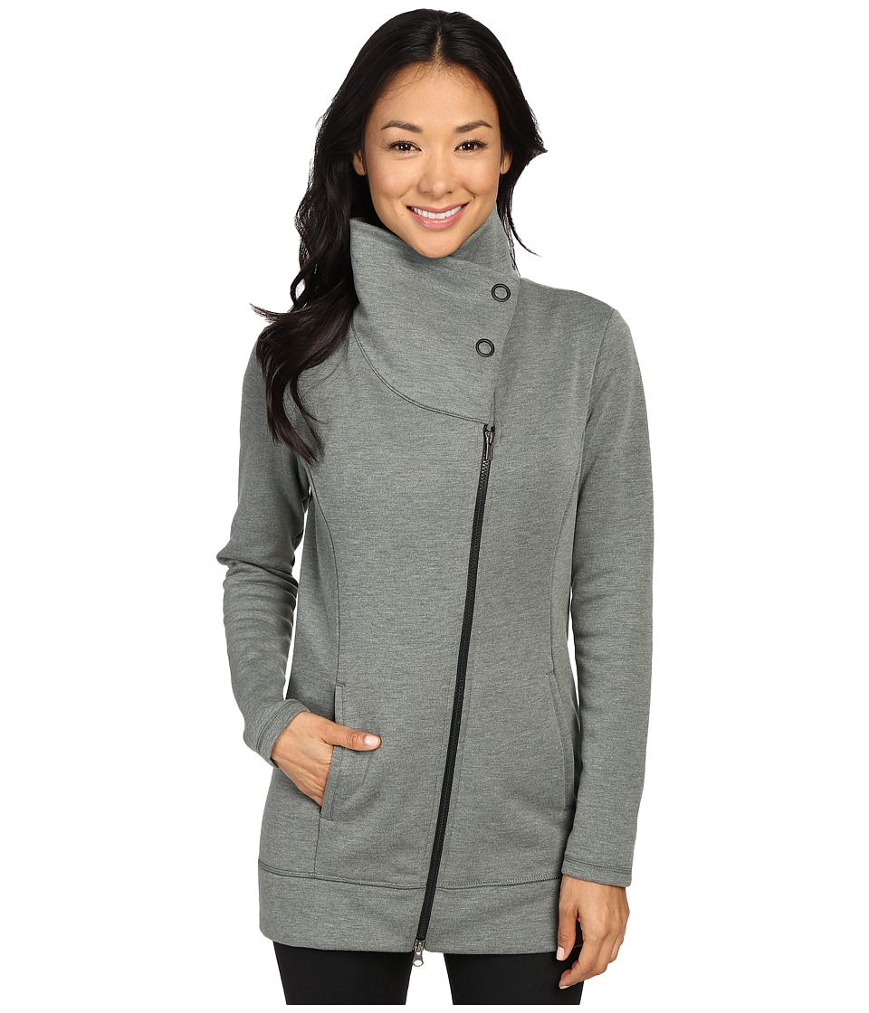 Lucy - Long Hatha Jacket (Deep Forest Heather) Women's Coat