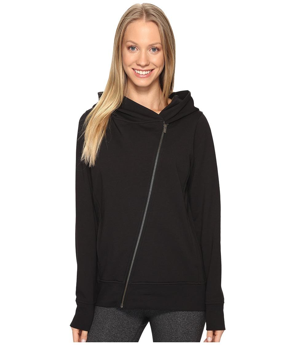 Lucy - Hatha Everyday Terry Full Zip (Lucy Black) Women's Sweatshirt