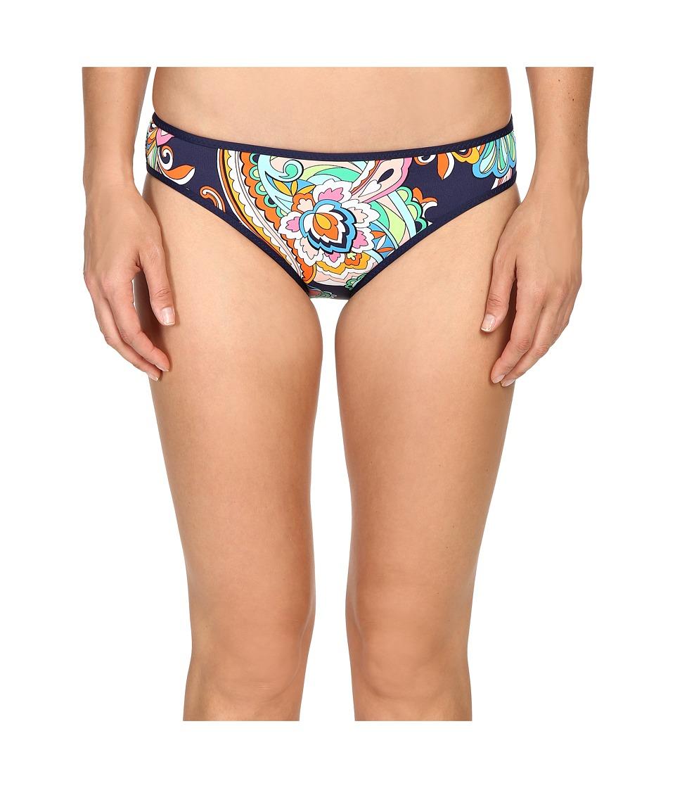 Tommy Bahama - Mare Paisley Reversible Hipster Bikini Bottom (Mare Navy) Women's Swimwear