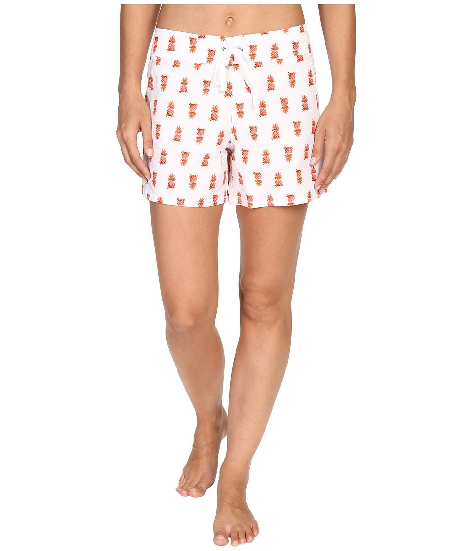 Tommy Bahama - Pineapple 5 Boardshorts (White) Women's Swimwear