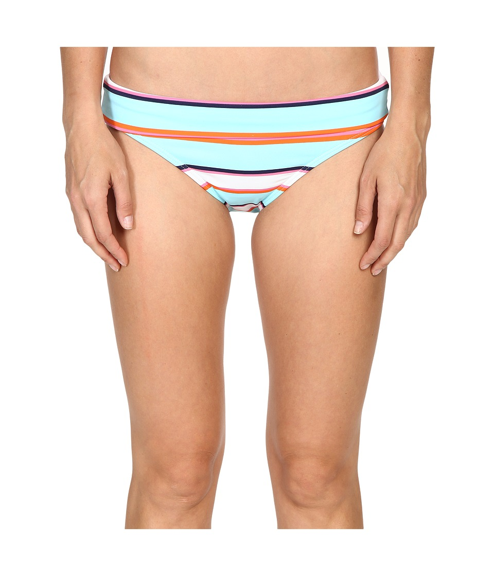 Tommy Bahama - TB Rugby Stripe Wide-Band Hipster Bikini Bottom (Multicolor) Women's Swimwear