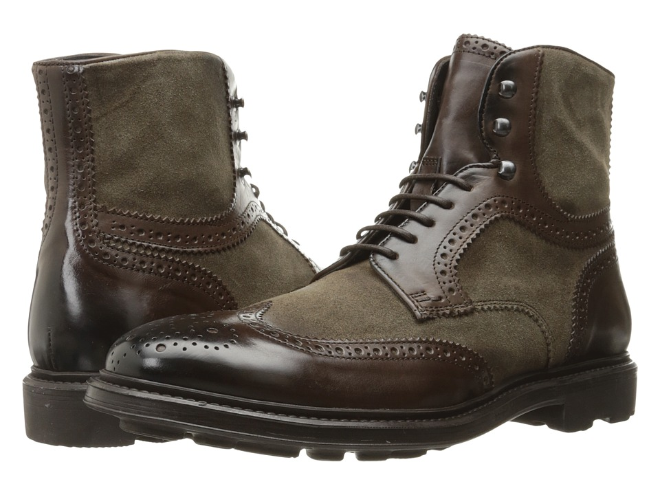 To Boot New York - Hobson (Brown/Sand) Men's Shoes
